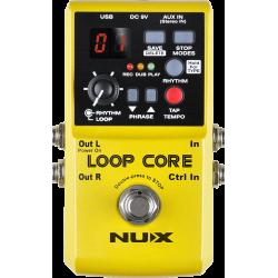 Pédale looper Nux Loopcore boite à rythme