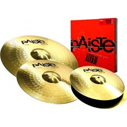 Pack cymbales Paiste 101 universal