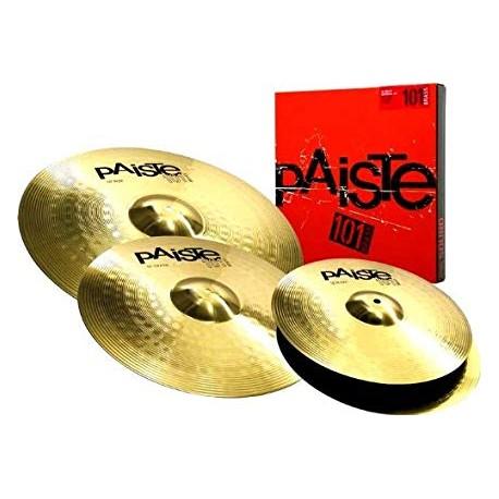 Pack cymbales Paiste 101 universal