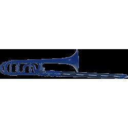 Trombone d'étude en ABS Cool Wind CTB-200DB bleu nuit