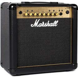 Ampli guitare électrique Marshall MG15GFX Gold edition