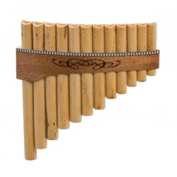 Flute de pan Gewa Premium 12 tubes Sol majeur