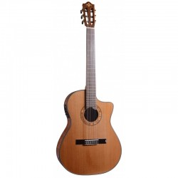 Guitare électro classique Martinez MP14-MH cross over