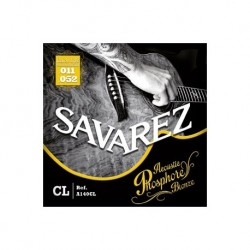 Cordes guitare acoustique phosphore bronze Savarez A140CL 11-52