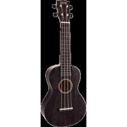 Ukulélé Mahalo Concert ukulele hano 2 trans black