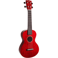 Ukulélé Mahalo Concert ukulele hano 2 trans red