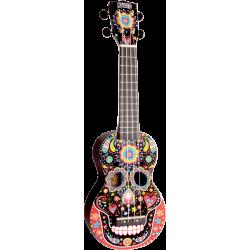 Ukulélé Mahalo Soprano MA1 Art - Crâne Mexicain