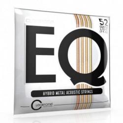 Cordes de guitare folk Cleartone EQ Hybrid 11-52