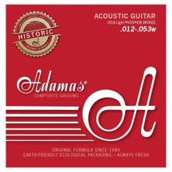 Cordes guitare folk Phosphore Bronze Adamas 1818 light