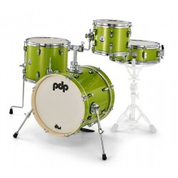 Batterie PDP by DW New yorker Electric Green Sparkle PDNY1604EL
