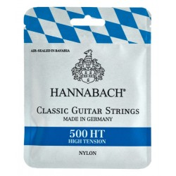 Cordes de guitare classique Hannabach 500 HT tirant fort