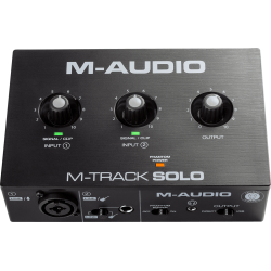 Carte son M-Audio M-Track solo