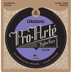 Cordes de guitare classique D'addario Pro arte tiran très fort