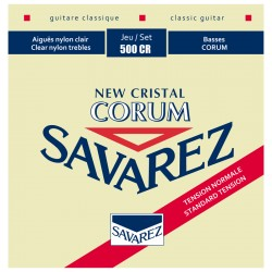 Cordes de guitare classique Savarez New cristal Corum 500CR tirant normal