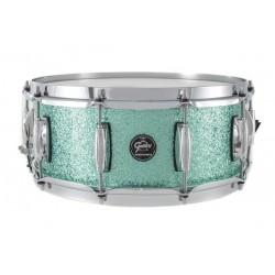 Caisse claire Gretsch Renown Maple Turquoise Premium Sparkle 14x5.5
