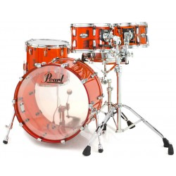 Kit de fûts Pearl Crystal Beat Rock 22 Ruby red