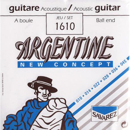 Cordes Jazz Savarez Argentine 1610 à boules 10-45
