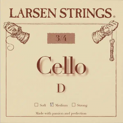 Corde de Ré pour violoncelle 3/4 Larsen