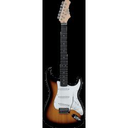 Guitare électrique Eko S300 sunburst