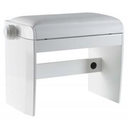 Banquette de piano meuble Dexibell blanche