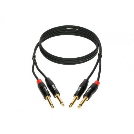 Cable couplé jack pour clavier Klotz MiniLink 6 metres