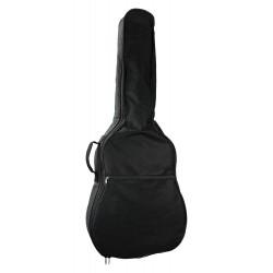 Housse guitare folk noire étanche
