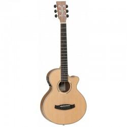 Guitare folk électro Tanglewood DBT TCE BW travel