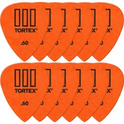 Sachet Dunlop Tortex III 0.60mm