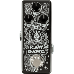 Pédale guitare MXR Raw Dawg Overdrive EG74 Eric Gales