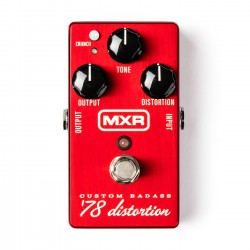 Pédale guitare MXR M78 Custom Badass Distortion