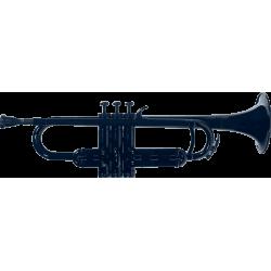 Trompette ABS noire Cool Wind CTR-200BK
