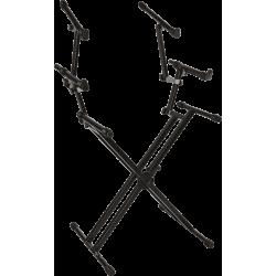 Stand clavier triple Quiklok QL723