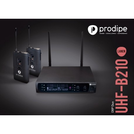 Système sans fil Prodipe UHF B210 DSP Duo