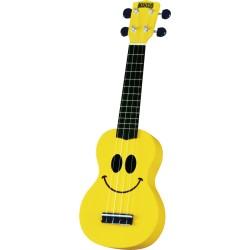 Ukulélé soprano Mahalo Smile jaune