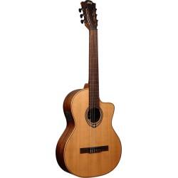 Guitare classique électro-acoustique Lag OC170CE pan coupé