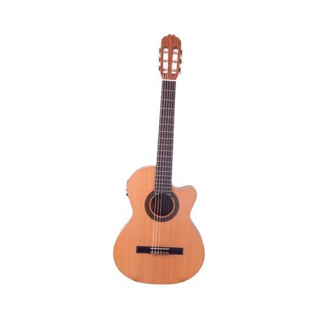 Guitare classique électro slim Prodipe Student CT EQ