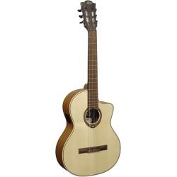Guitare classique électro-acoustique Lag OC88CE pan coupé