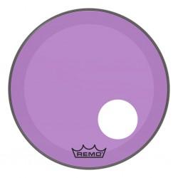 Peau Remo colortone Powerstroke 3 percée 20 pouces violette