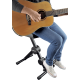 Siège Quiklok DX749 pour guitariste ou clavier avec dossier
