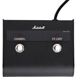 Pédale footswitch Marshall pour DSL 2 canaux avec led PEDL90012