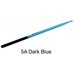 Baguettes de batterie Pro Orca Color 5A Blakc dark blue