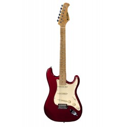 Guitare électrique Prodipe ST80 maple Candy Apple Red