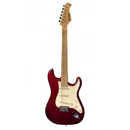 Guitare électrique Prodipe ST80 maple Candy Apple Red