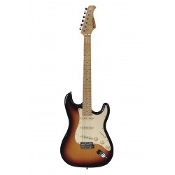 Guitare électrique Prodipe ST80 maple Sunburst