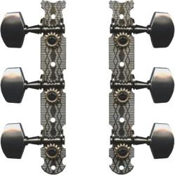 Mécaniques de guitare folk 3+3