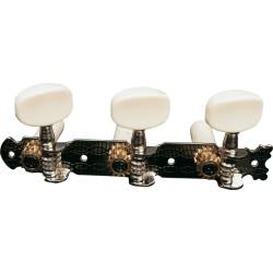 Jeu de mécanique pour guitare classique EZ1758N Nickel standard