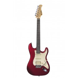 Guitare électrique Prodipe ST83 rosewood Candy Apple Red