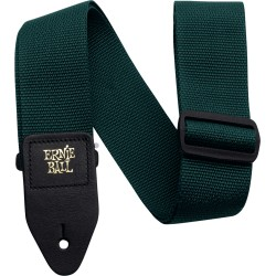 Sangle Ernie Ball Polypropylène verte