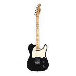 Guitare électrique Prodipe TC80MA noire