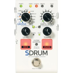 Pédale guitare Digitech Drum machine SDRUM